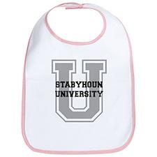 Stabyhoun UNIVERSITY Bib