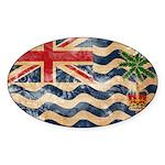 British Indian Ocean Territor Sticker (Oval 10 pk)