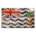 British Indian Ocean Territor Sticker (Rectangle)