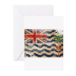 British Indian Ocean Territor Greeting Cards (Pk o
