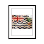 British Indian Ocean Territor Framed Panel Print
