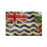 British Indian Ocean Territor Rectangle Magnet (10