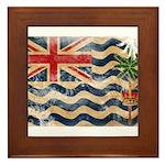 British Indian Ocean Territor Framed Tile