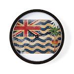 British Indian Ocean Territor Wall Clock