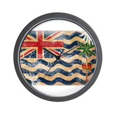 British Indian Ocean Territor Wall Clock