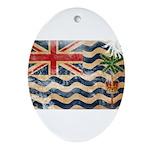 British Indian Ocean Territor Ornament (Oval)
