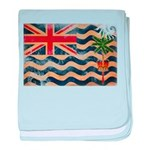 British Indian Ocean Territor baby blanket