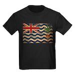 British Indian Ocean Territor Kids Dark T-Shirt