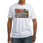 British Indian Ocean Territor Fitted T-Shirt