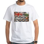 British Indian Ocean Territor White T-Shirt