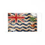 British Indian Ocean Territor Aluminum License Pla