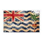 British Indian Ocean Territor 22x14 Wall Peel