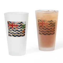 British Indian Ocean Territor Drinking Glass