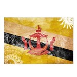 Brunei Flag Postcards (Package of 8)