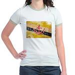 Brunei Flag Jr. Ringer T-Shirt