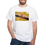 Brunei Flag White T-Shirt