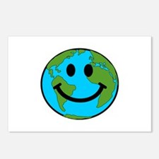 Smiling Earth Smiley Postcards (Package of 8)