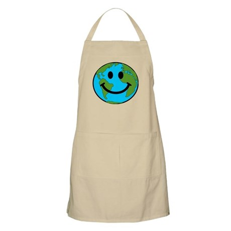 Smiling Earth Smiley Apron