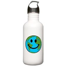 Smiling Earth Smiley Water Bottle