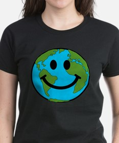 Smiling Earth Smiley Tee