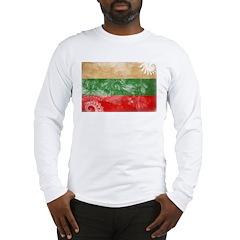Bulgaria Flag Long Sleeve T-Shirt
