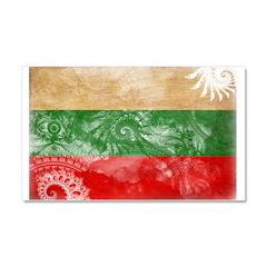 Bulgaria Flag Car Magnet 20 x 12