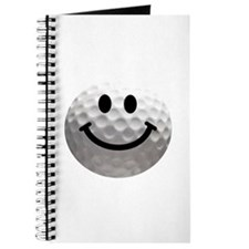 Golf Ball Smiley Journal