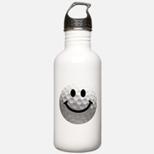 Golf Ball Smiley Water Bottle