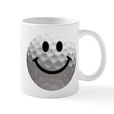 Golf Ball Smiley Small Mug