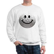 Golf Ball Smiley Sweatshirt