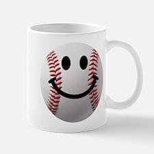 Baseball Smiley Mug