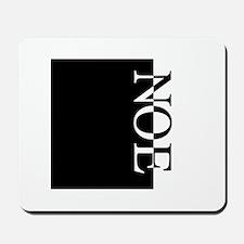 NOE Typography Mousepad