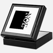 NOE Typography Keepsake Box