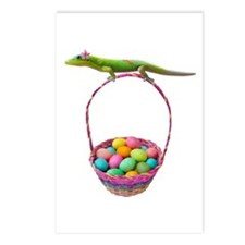Easter Gecko Postcards (Package of 8)