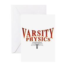 Varsity Physics Greeting Card