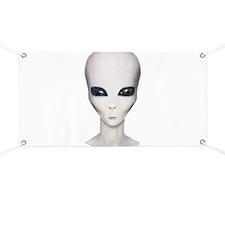 Alien Girl Banner