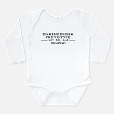 Prototype Rev. B Long Sleeve Infant Bodysuit