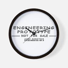 Prototype Rev. B Wall Clock