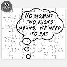 Two Kicks Puzzle