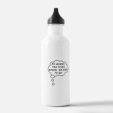 Two Kicks Water Bottle