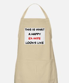 happy ex-wife Light Apron
