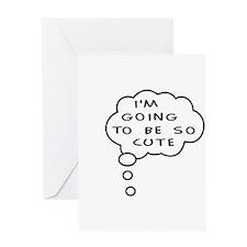 So Cute Greeting Card
