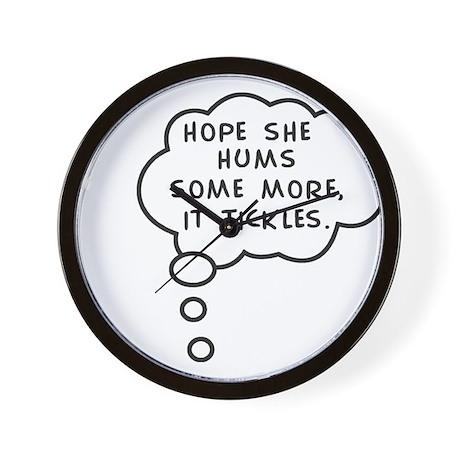 Mommy's Hum Wall Clock