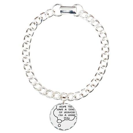 Future Hand Full Charm Bracelet, One Charm