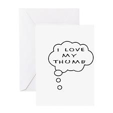Thumb Love Greeting Card