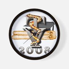 2008 Vet Tech Grad Wall Clock