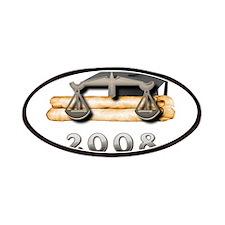 Law Grad 2008 Patches