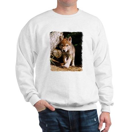 Approaching Wolf Pup Sweatshirt