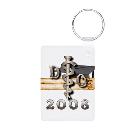 Osteopathic 2008 Aluminum Photo Keychain