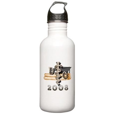 Osteopathic 2008 Stainless Water Bottle 1.0L